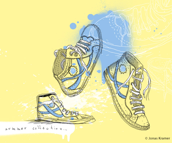 Fashion Illustration - Sneaker/Shoes