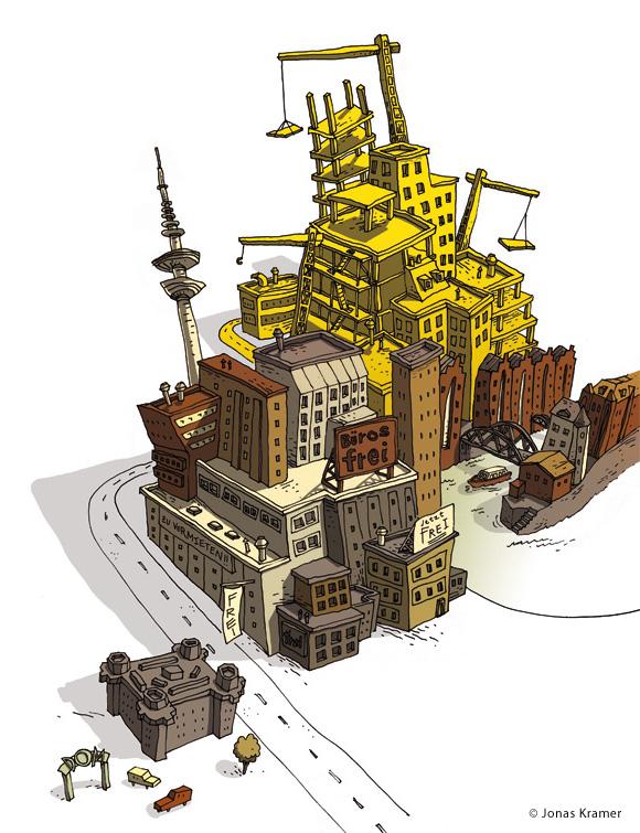 Hamburg Illustration