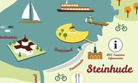 Karte Steinhuder Meer